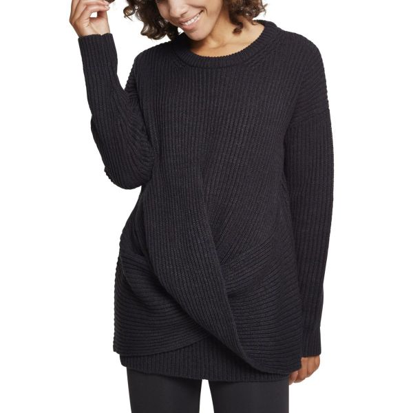 Urban Classics Ladies - Wrapped Strick Sweater Pullover