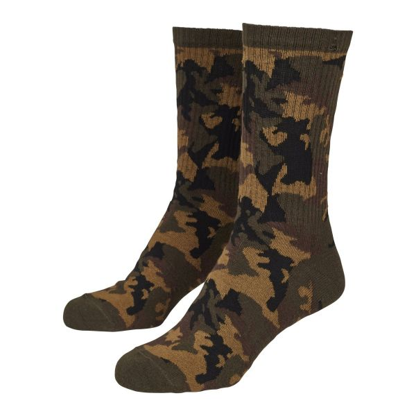 Urban Classics - SPORTS Unisex Socken 2er Pack army camo