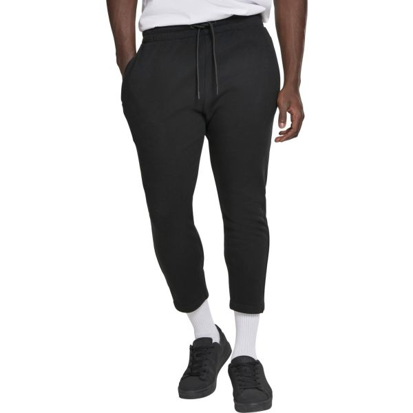 Urban Classics - Cropped Terry Pants schwarz