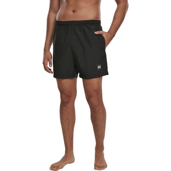 Urban Classics - BASIC Swim Badeshorts schwarz
