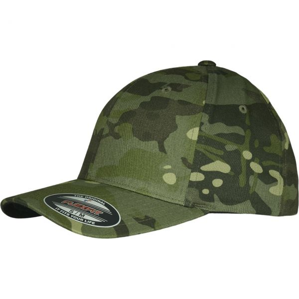 Flexfit Stretchable Multicam Tarnmuster Cap camo