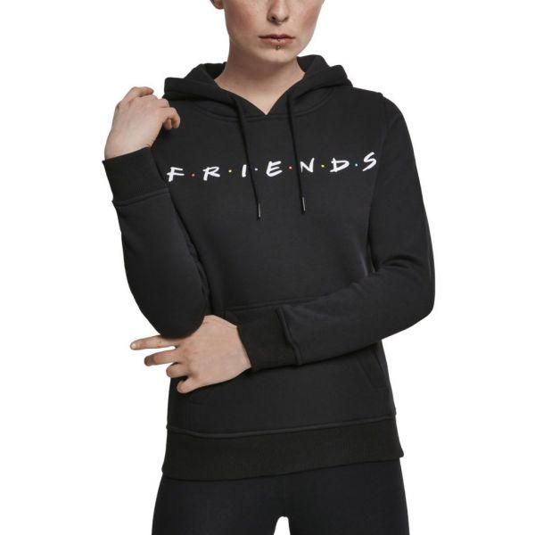 Merchcode Ladies Hoody - FRIENDS schwarz