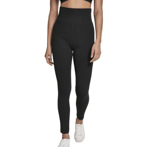 Urban Classics Ladies - High Waist Stretch Jersey Leggings
