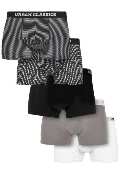 Urban Classics - Organic Boxer Shorts 5er Pack multi