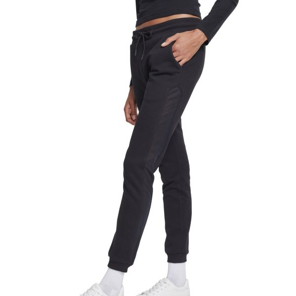 Urban Classics Ladies - Tech Mesh Sweatpants schwarz
