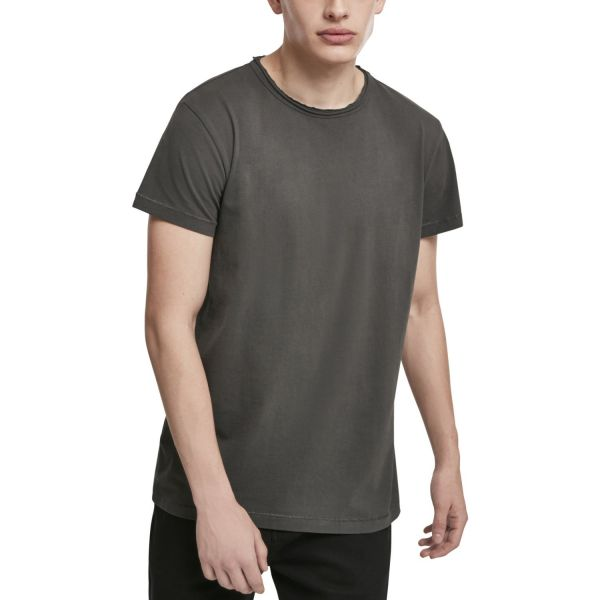 Urban Classics - Pigment Dye High Low Shirt