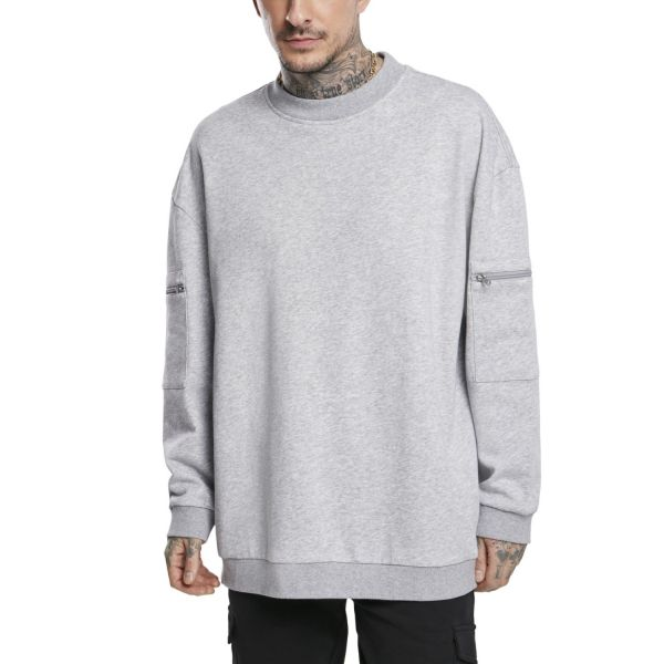 Urban Classics - TRAINING Terry Crewneck Pullover