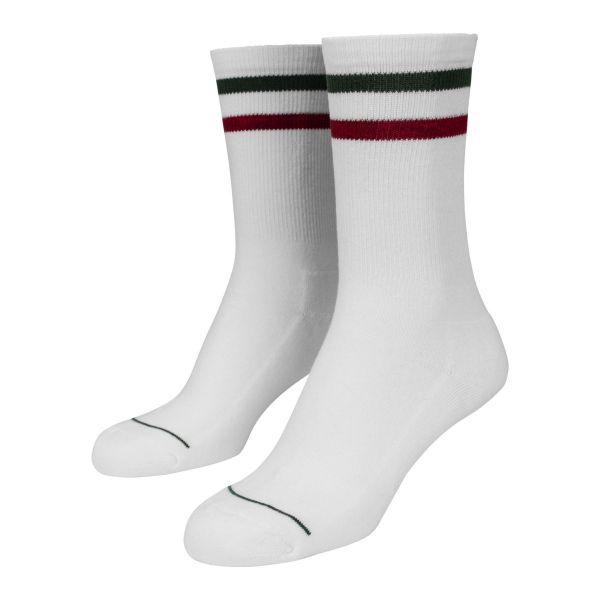 Urban Classics - 3-Tone COLLEGE Tennis Sport Socken 2er Pack