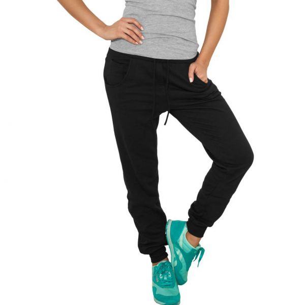 Urban Classics Ladies - 5 POCKET Sweatpant schwarz