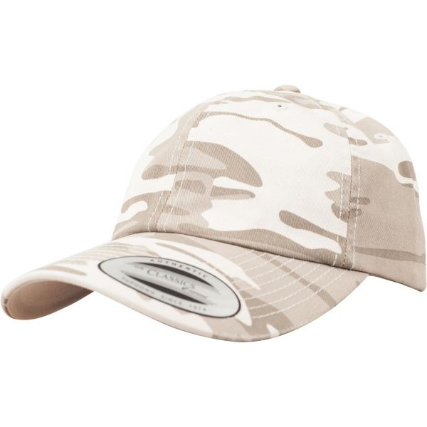 Flexfit LOW PROFILE Strapback Washed Cap camouflage