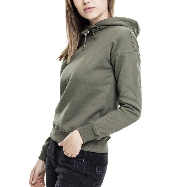 Urban Classics Ladies - BASIC Fleece Sweatshirt Hoody