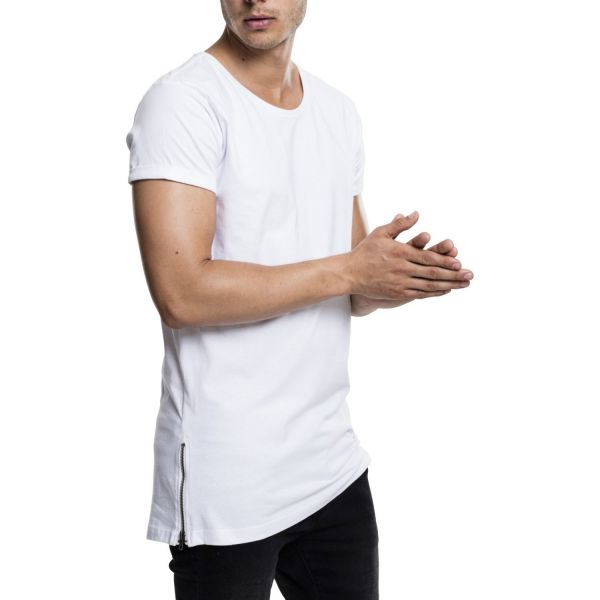 Urban Classics - ZIPPED SHAPED Long Tee Shirt