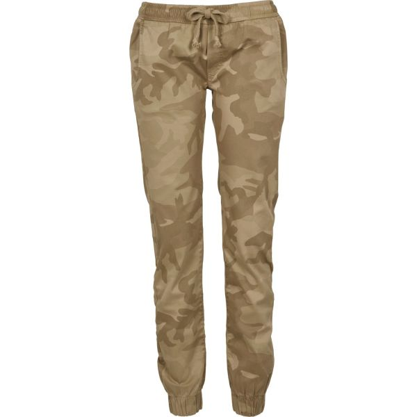 Urban Classics Ladies - Jogging Pants Stretch Hose camo