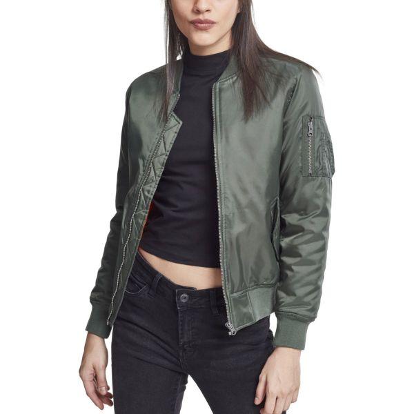 Urban Classics Ladies - BASIC BOMBER Jacket black