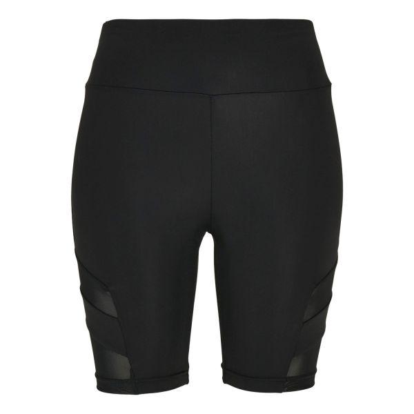 Urban Classics Ladies - CYCLE Tech Mesh High Waist Shorts