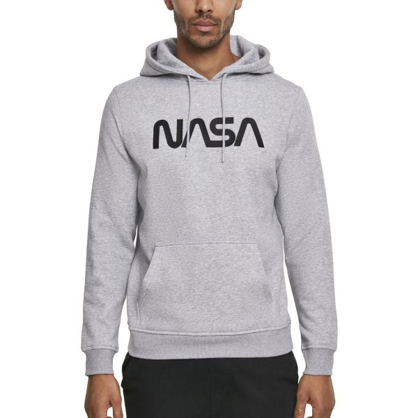 Mister Tee Hoody - NASA EMB grey