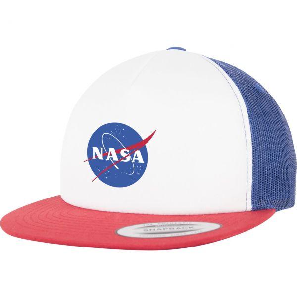 Mister Tee Snapback Cap - NASA weiß