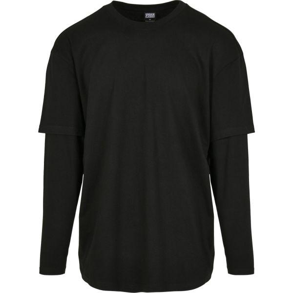 Urban Classics - Oversized Double Layer Longsleeve Shirt