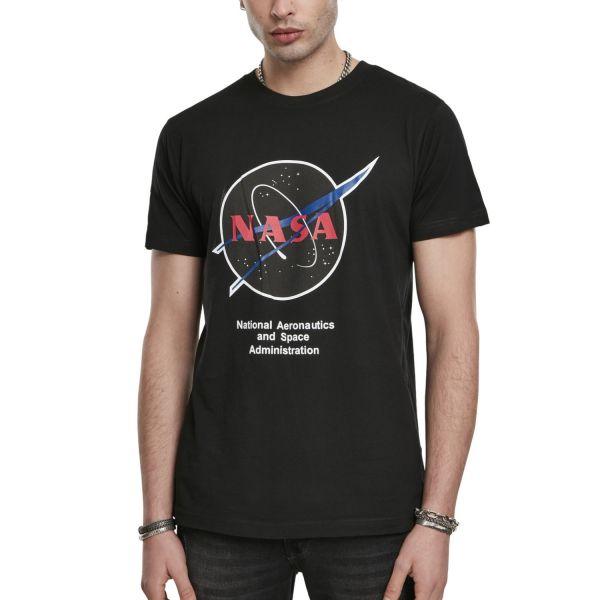 Mister Tee Shirt - NASA Retro Insignia Logo schwarz