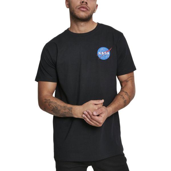 Mister Tee Shirt - NASA Logo Embroidery black