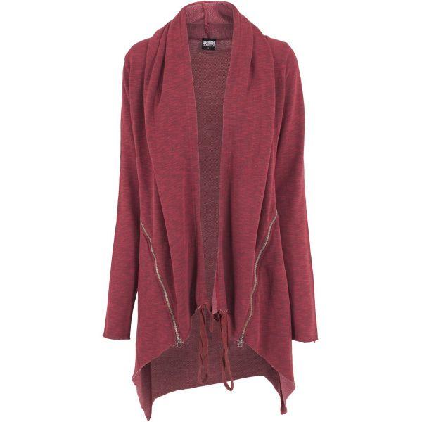 Urban Classics Ladies - SLUB TERRY Long Cardigan Jacke