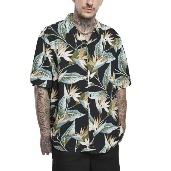 Urban Classics - Blossoms Resort Shirt Hemd