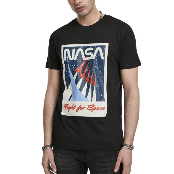 Mister Tee Shirt - NASA Fight For Space noir