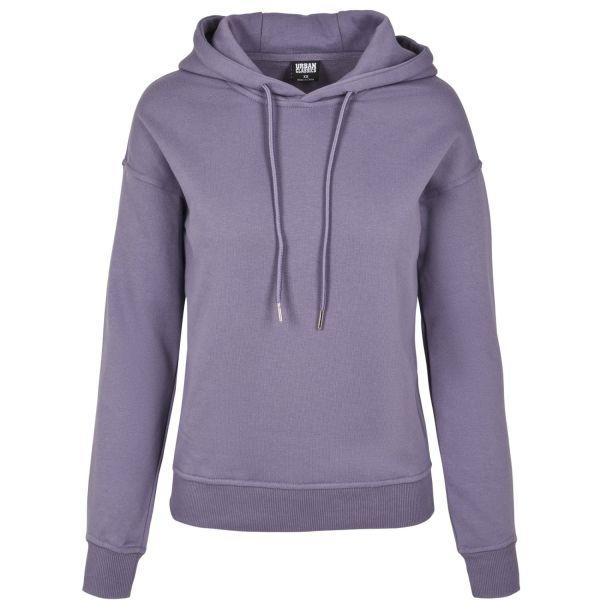 Urban Classics Ladies - BASIC Hoody bright violet