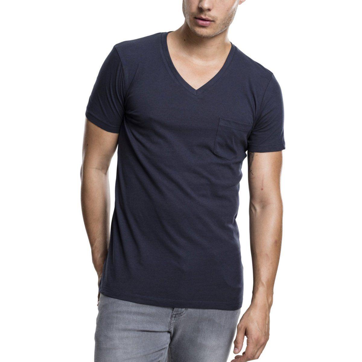 Urban Classics - POCKET V-Neck Shirt