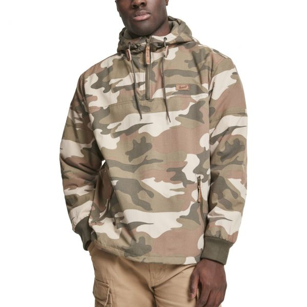 Brandit LUKE Pull-Over Outdoor Army Windbreaker Jacke