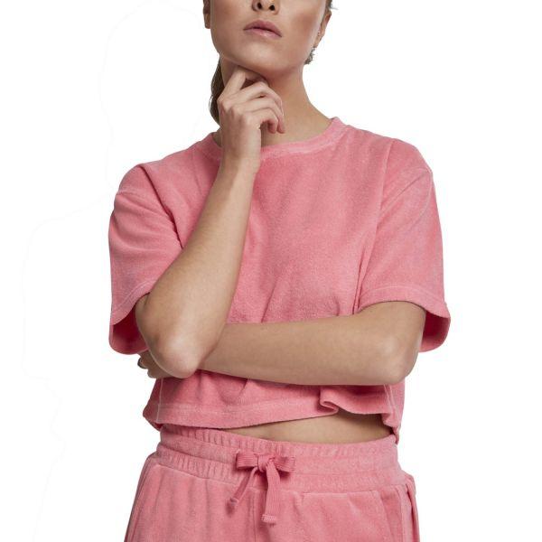 Urban Classics Ladies - Short TOWEL Top