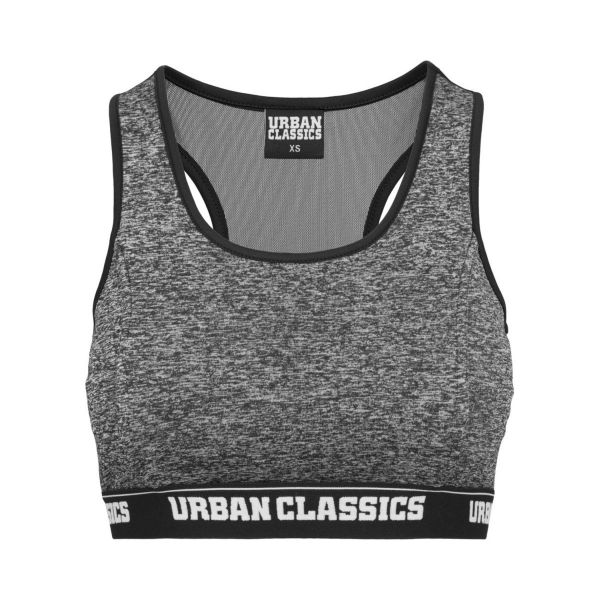 Urban Classics Ladies - Active Melange Fitness Sport Bra