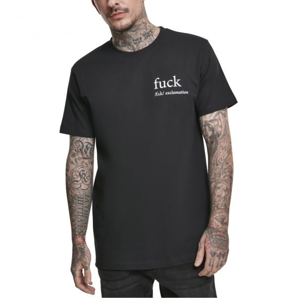 Mister Tee Shirt - F?#K Exclamation