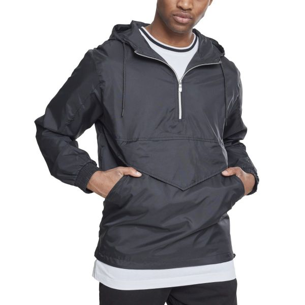 Urban Classics - PULL OVER Windbreaker schwarz