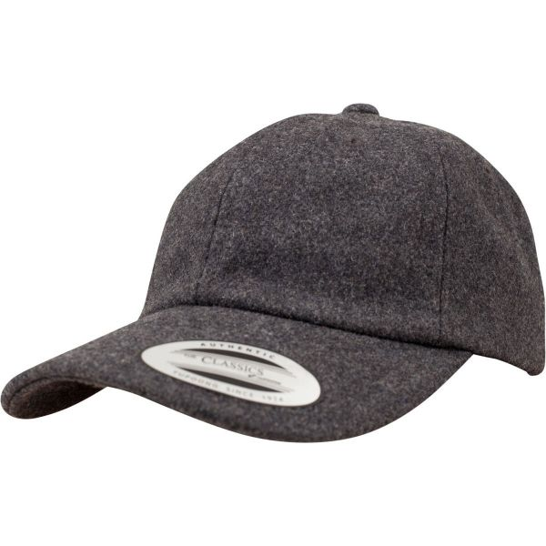 Flexfit LOW PROFILE Melton Wool Strapback DAD Cap