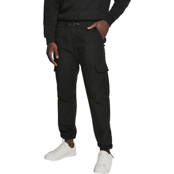 Urban Classics - RIPSTOP CARGO Jogging Pantalon noir