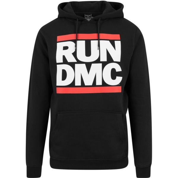 Merchcode X ARTISTS - Run DMC Logo Hoody schwarz