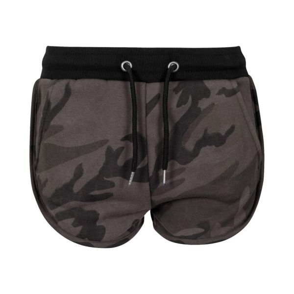 Urban Classics Ladies - Hotpants Shorts camo
