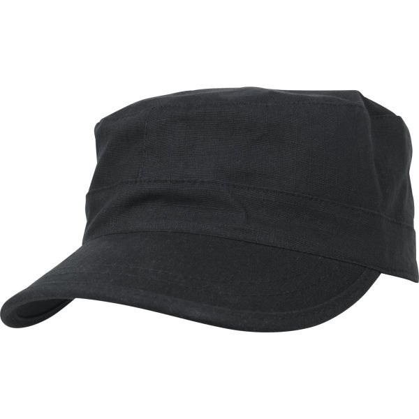 Flexfit ARMY MILITARY Fitted Top Gun Ripstop Cap - noir