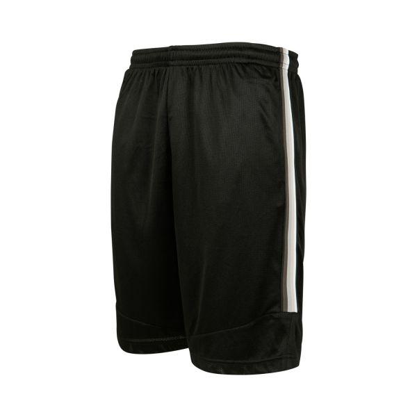 Urban Classics - BASKETBALL MESH Shorts black / grey
