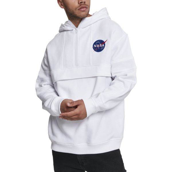 Mister Tee Hoody - NASA Chest Embroidery Pullover
