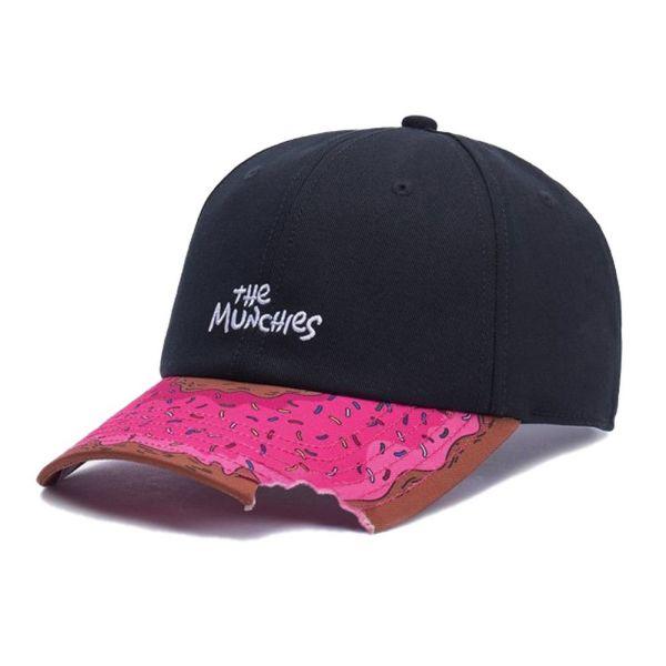 Cayler & Sons Snapback Cap - Munchies Curved schwarz / multi