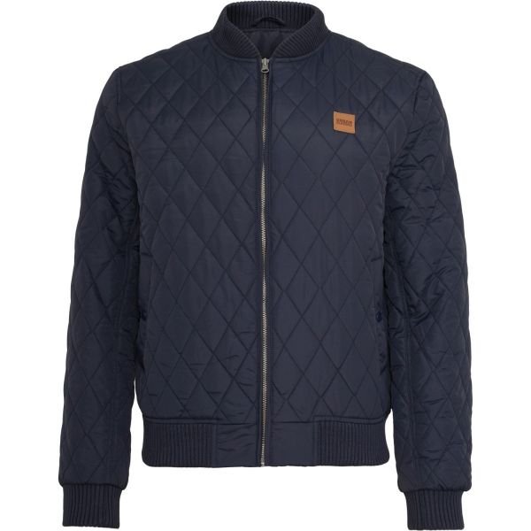 Urban Classics - DIAMOND Quilt Nylon Jacket black