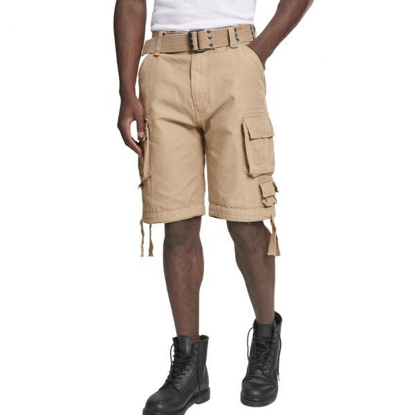 Brandit SAVAGE Vintage Worker Cargo Army Outdoor Shorts