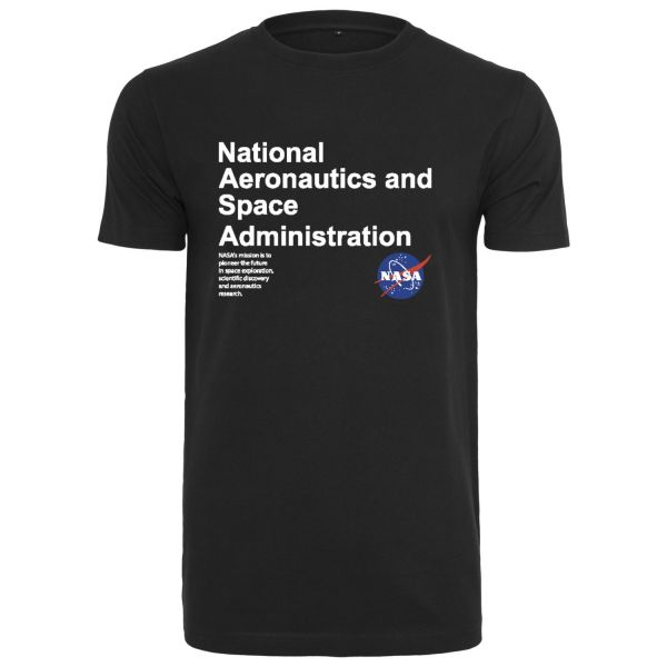 Mister Tee Shirt - NASA Definition schwarz