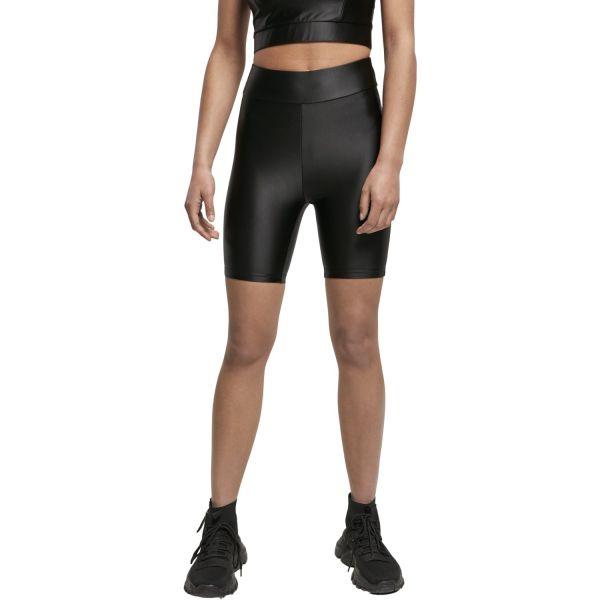 Urban Classics Ladies - Shiny Metallic Cycle Shorts