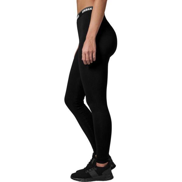 Urban Classics Ladies - Logo Leggings noir