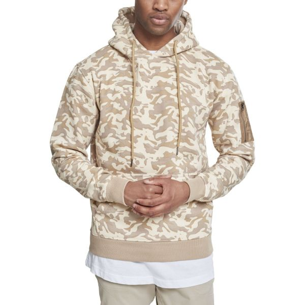 Urban Classics - SWEAT BOMBER Fleece Hoody camo