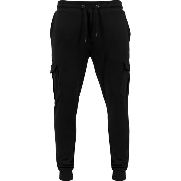 Urban Classics - FITTED Cargo Sweatpants noir