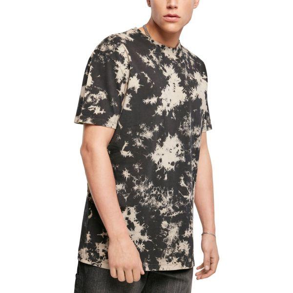 Urban Classics - Bleached T-Shirt schwarz